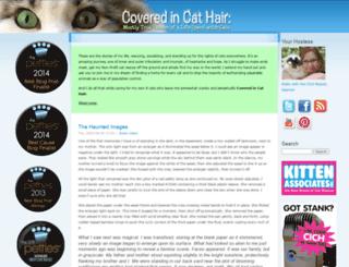 coveredincathair.com screenshot