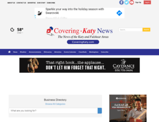 coveringkaty.com screenshot