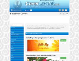 coverlayout.com screenshot