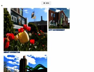 covington.va.us screenshot