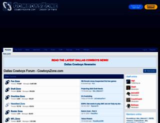 cowboyszone.com screenshot