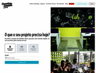 coworkingbrasil.org screenshot