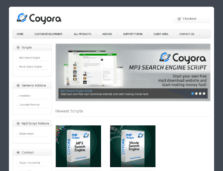 coyora.com screenshot