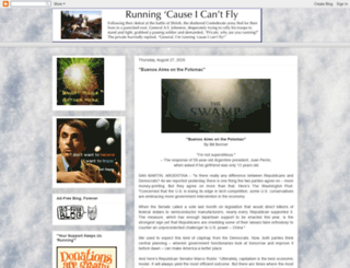 coyoteprime-runningcauseicantfly.blogspot.com screenshot