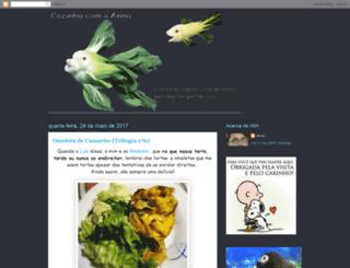 cozinhadanna.blogspot.com screenshot