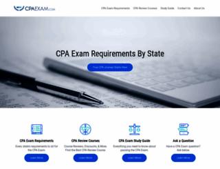 cpaexam.com screenshot