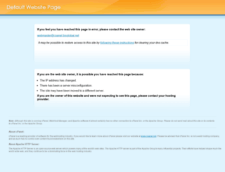 cpanel.bisglobal.net screenshot