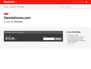 cpanel.dennisknows.com screenshot