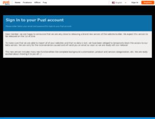 cpanel.puzl.com screenshot