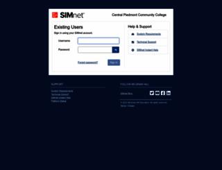 cpcc.simnetonline.com screenshot