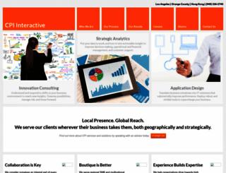 cpiinteractive.com screenshot