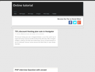 cprogramtutorials.blogspot.com screenshot