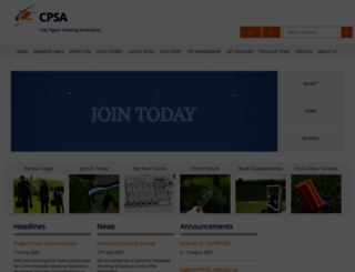 cpsa.co.uk screenshot