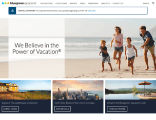 cpsweepstakes.bluegreenvacations.com screenshot