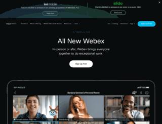cptac.webexone.com screenshot