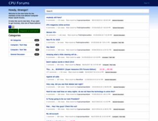 cpuforums.org screenshot