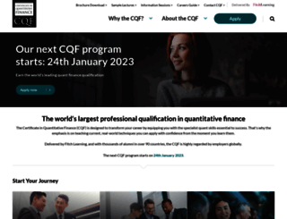 cqf.com screenshot