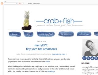 crabandfish.blogspot.com screenshot
