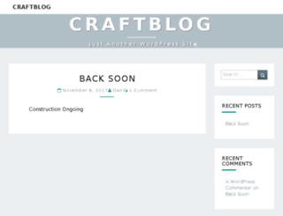 craftblog.com.au screenshot