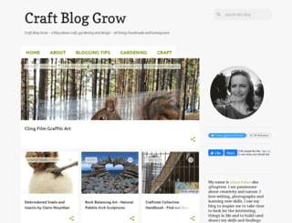 craftbloguk.blogspot.com screenshot