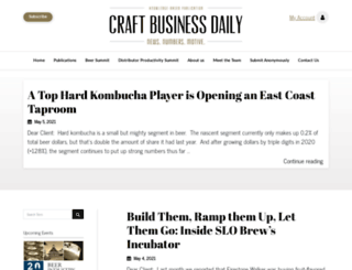 craftbusinessdaily.com screenshot