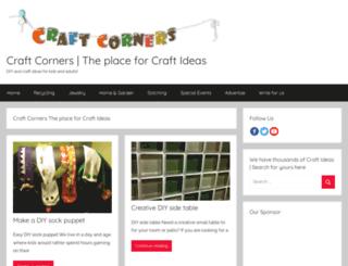 craftcorners.com screenshot