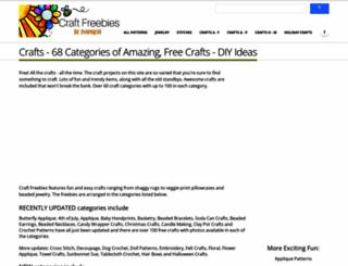 craftfreebies.com screenshot