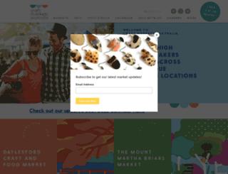 craftmarkets.com.au screenshot
