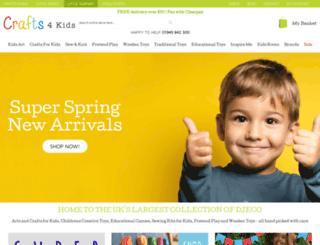 crafts4kids.co.uk screenshot