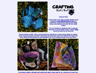craftsbycarolyn.co.uk screenshot