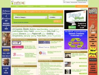 craftshq.com.au screenshot