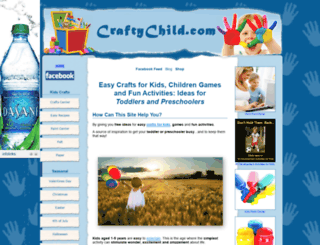 craftychild.com screenshot