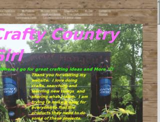 craftycountrygirl.com screenshot