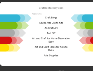 craftzeefactory.blogspot.com screenshot