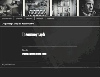 craigclevenger.com screenshot