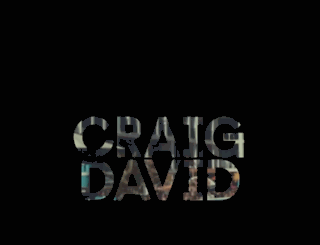 craigdavid.com screenshot