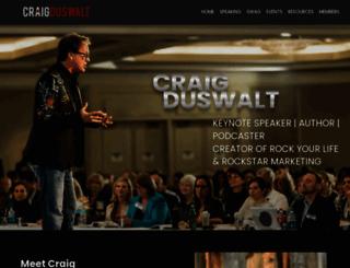 craigduswalt.com screenshot