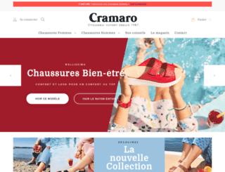 cramaro-chausseur.com screenshot