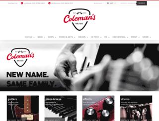 cranbournemusic.com.au screenshot