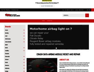 crashdata.co.uk screenshot