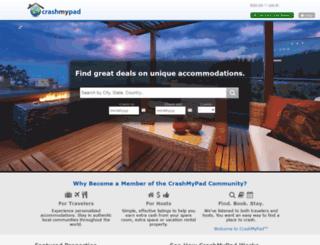 crashmypad.com screenshot