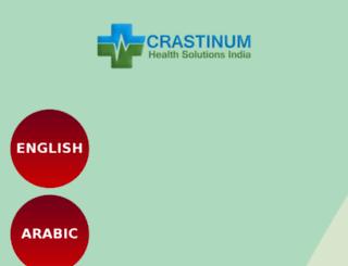 crastinumhealthcare.com screenshot