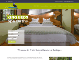 craterlakes.com.au screenshot