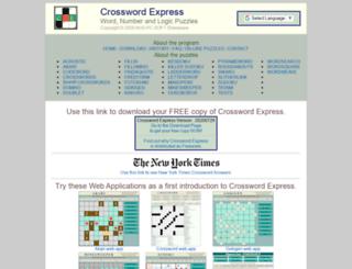 crauswords.com screenshot