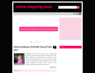 crazorashop.blogspot.in screenshot