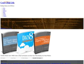 crazydadlife.com screenshot