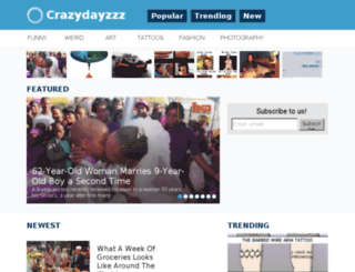 crazydayzzz.me screenshot