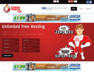crazywriters.0zed.com screenshot