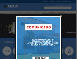 crea-pi.org.br screenshot