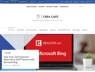 creacafe.ca screenshot
